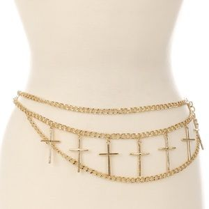Trinity Chain Cross Belt